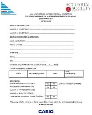 Picture for category Forms for Schools